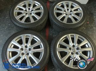 Four 2013 Lexus GS gs350 Factory 18 Wheels Tires Rims 235 45 18