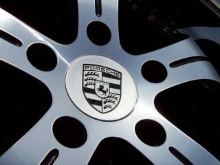 19 Vertini Regency Wheels Black Porsche 996 944 928 911 Carrera Narrowbody Tires