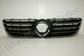 2005 2009 VW Polo MK5 Front Central Grill Grille Chrome Black