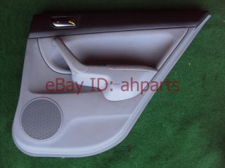 04 05 06 07 08 Acura TSX Passenger Rear Door Panel