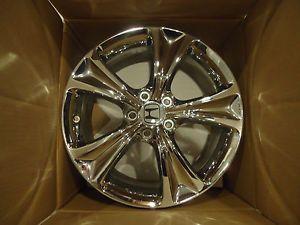 "64016 18"" Factory Honda Accord Chrome Wheels Rim 2008 13 4 Wheel Set"