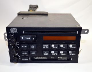 1994 95 96 C4 Corvette Delco Bose Gold CD Radio Tape Deck 16172721