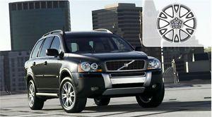 "New 18"" x 7"" Atlantis Black Chrome Wheel Rim 2003 2012 Volvo XC90 30748519"