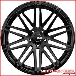 "22"" Land Rover Range Rover Sport XO Milan Matte Black Concave Wheels Rims"