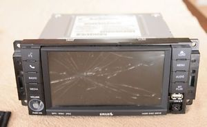 430N RHB Mopar Chrysler Navigation Radio P05064829AG for Parts Repair or Core