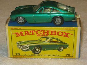 Lesney Matchbox Car Regular Wheels 75B Ferrari Berlinetta