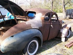 1937 37 1938 38 Buick 5 Window Business Coupe Project or Parts Rat Rod Hot