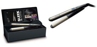 Remington S6500 Sleek Curl Hair Straightener New SEALED with DVD LCD Ceramic