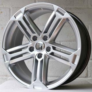 "18"" Seat Leon MK2 2005 2012 Triple Spoke Silver Alloy Wheels 5x112"