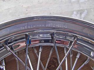 "Borrani RW3872 16x6"" Wire Wheel Maserati 3500GT Newly Restored"