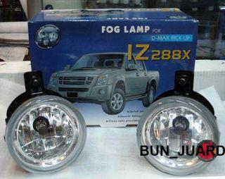 Driving Fog Lights Lamps Kit Isuzu Dmax Holden Rodeo 08