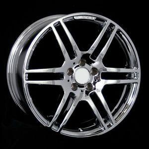"""19"""" Chrome Staggered Wheels Rims Fit Mercedes W203 W208 W209 W218 W219 W210 W211"""