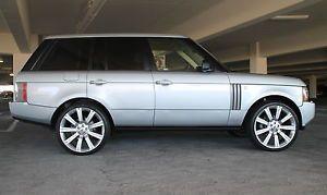 "Range Rover 24"" Wheels Rims Brand New Compare to 22"" 2006 2003 2012"