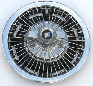 "1965 1967 14"" Buick Straight Wire Wheel Cover"