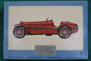 Pocher Art K 71 Alfa Romeo 8c 2300 Monza 1931 1 8 Scale Model Kit Parts Repairs