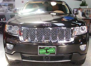 2011 2013 Jeep Grand Cherokee Chrome Grille Summit Edition Mopar Genuine New