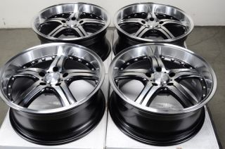 17 5x112 Wheels Mercedes Audi Maybach CLK350 S500 E320 E350 Polished 5 Lug Rims