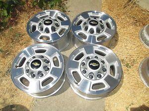 "2011 2014 17"" Chevy GMC 2500 HD Truck Wheels Rims Silverado 2500HD 8 Lug"