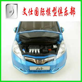 1 18 China New Honda Fit Jazz 2009 Blue Diecast Car Model Mint in Box