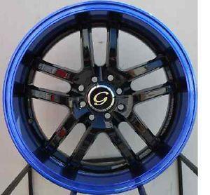 18 inch Gline 817 Wheel Rims Tires Fitnissan Toyota Kia Honda Nissan 5x100 4 5
