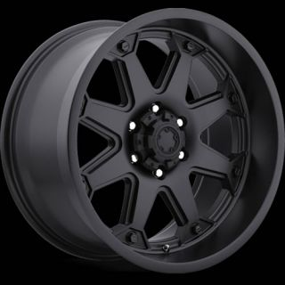 18x10 Black Ultra Bolt 198 Wheels 6x5 5 25 Lifted Toyota Tacoma 4WD 6LUG