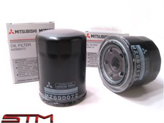 1 Mitsubishi Oil Filter w Crush Washer EVO 8 9