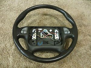 00 02 Pontiac Firebird Trans Am Steering Wheel Radio Controls Ebony Factory
