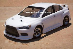 RC Drift Car Mitsubishi Lancer EVO x 4 Wheel Belt Drive 2 4GHz RTR Wbattcha 1 10