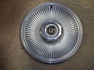 "1978 78 79 Pontiac Grand Prix Hubcap Wheel Cover 14"" 1"