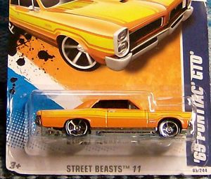1965 Pontiac GTO Hot Wheels Rat Rod Hot Rod