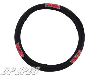 Ole Miss Mississippi Rebels Genuine Leather Steering Wheel Cover Saab Volvo