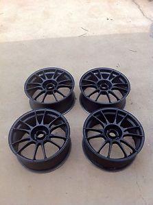 """Oz Racing Ultraleggera 18"""" Wheels Lightweight Audi VW 5x112mm A4 S4 GTI 18x8 Rim"""