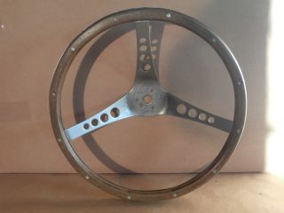 """Wood Steering Wheel The """"500"""" by Superior Performance Chevelle Camaro Corvette"""
