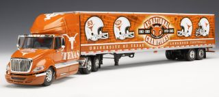 Texas Longhorns Die Cast Tractor Trailer