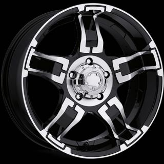 15x8 Black Ultra Drifter 194 Wheels 5x4 5 19 Lifted Ford Ranger Explorer