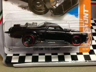 "2013 Hot Wheels ""Custom 71 El Camino"" New Release"