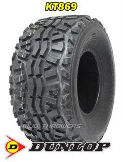 2 24x11 10 Dunlop KT869 Tires 4 Ply Rating 24x11x10 Kawasaki Mule Gator ATV
