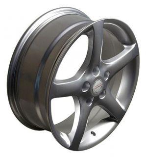 "17"" 05 Altima Silver Wheels Set of 4 Rims 4 Tires Fit Nissan 300zx Maxima"