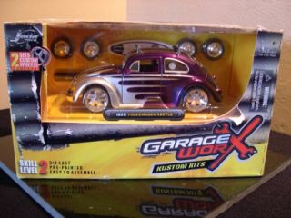 Jada Toys Diecast Garage Worx Kustom Kits 1959 VW Bug 1 24 Scale