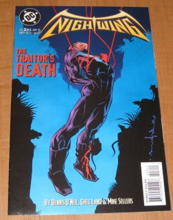 Nightwing 3 1995 Nice Near Mint Comic