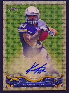 Keenan Allen 2013 Topps Chrome Superfractor Auto 1 1