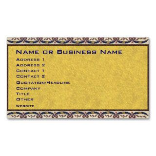 Vintage 48 Star American Flag Business Card