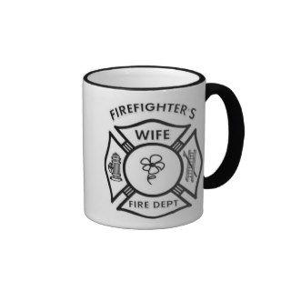Fireman's Wife Coffee Mugs