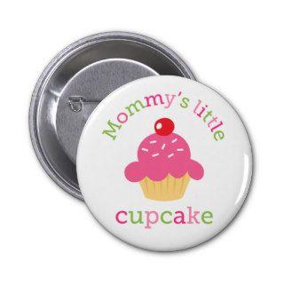 Mommys little cupcake cute cartoon pins