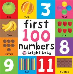First 100 Numbers (Board book) Learning & Education