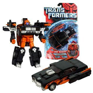 Hasbro Year 2007 Transformers Exclusive All Spark Power Series 6 Inch Tall Robot Action Figure   Autobot BIG DADDY with Twin Blasters, 2 Missiles and Activator Key (Vehicle Mode: Muscle Car): Toys & Games