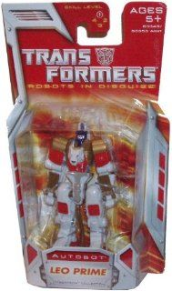 Transformers Year 2007 Robots in Disguise Cybertron Collection Series Legends Class 3 Inch Tall Robot Action Figure   Autobot LEO PRIME: Toys & Games
