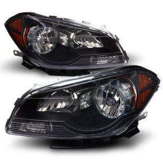 09 12 Chevy Malibu Euro Black Headlights: Automotive