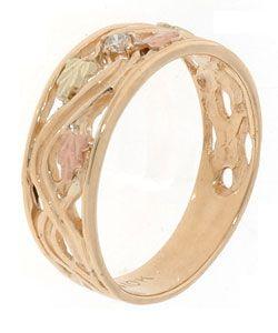 Black Hills Gold Diamond Ring Black Hills Gold Black Hills Gold Rings