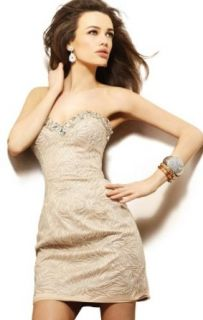 2013 Sexy Sheath/Column Sweetheart Short/Mini Crystal Cocktail Dress: Clothing